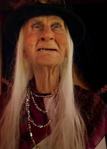 Gypsy woman - animatronic fortune teller, Ripley's Believe It Or Not Museum, Branson, Missouri.