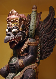 Ethnic wood carving, Ripley's Believe It Or Not Museum, Branson, Missouri.