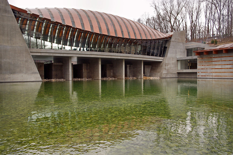 Crystal Bridges Museum, Bentonville, Arkansas.