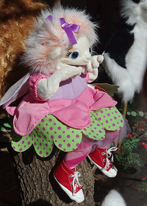 Shop window toy (puppet?), Eureka Springs, Arkansas.