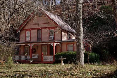 Victorian house, Eureka Springs, Arkansas.