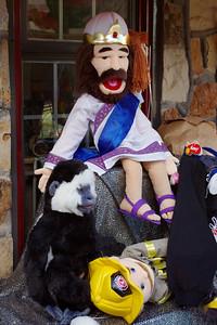 Puppets, Eureka Springs, Arkansas.