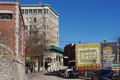 Street, Eureka Springs, Arkansas.