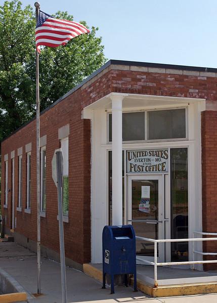 Post office, Everton, Missouri. May 2012