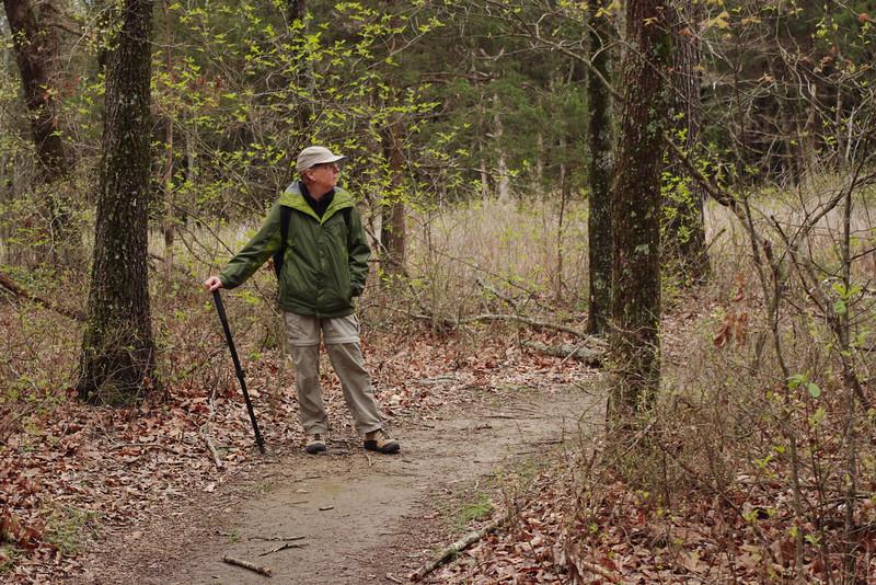 Rita, Homesteaders Trail, Henning Conservation Area, near Branson, Missouri.