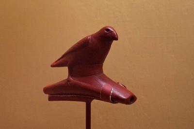 Platform Bird Pipe. Museum of Native American History, Bentonville, Arkansas.