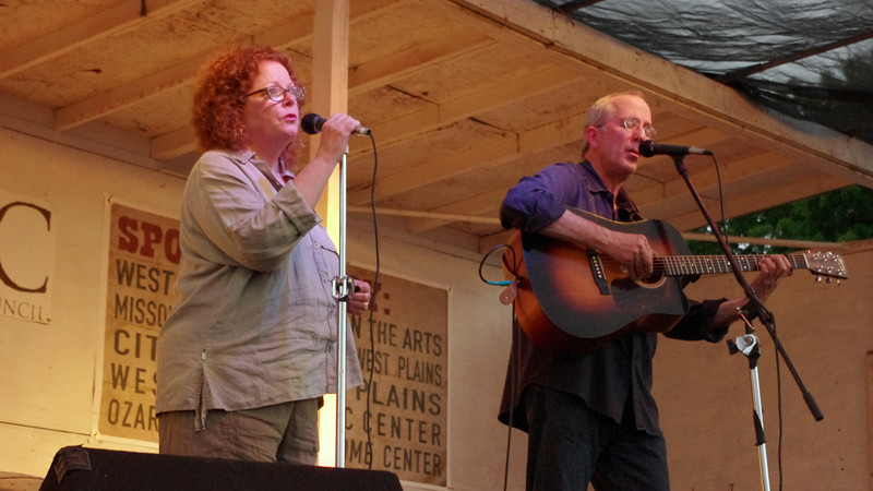 """Mollie O'Brien and Rich Moore, Old Time Music Ozark Heritage Festival, West Plains, Missouri.  June 15, 2012. To see a video of Mollie and Rich performing """"Dead and Lovely"""" click this link:<br /> <br />  <a href=""""http://garywright.smugmug.com/Music/Mollie-OBrien-Rich-Moore/24285312_j8jFwn"""">http://garywright.smugmug.com/Music/Mollie-OBrien-Rich-Moore/24285312_j8jFwn</a>"""