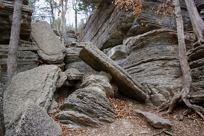 Devil's Kitchen area, Roaring River State Park, near Cassville, Missouri.