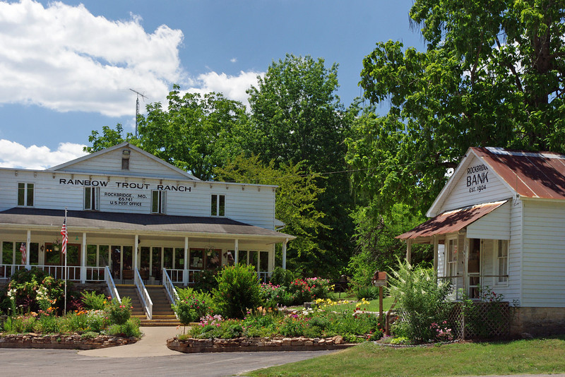 Rainbow Trout Ranch Restaurant and Bank; Rockbridge, Missouri.