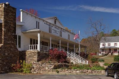 Restaurant, Rainbow Trout Ranch, Rockbridge, Missouri.