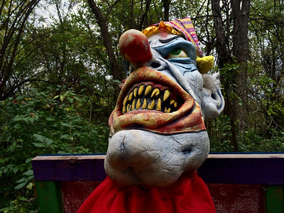 The Haunted Trail, Rutledge-Wilson Farm Park, Springfield, MO.