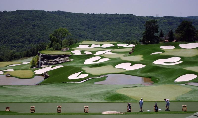 Top of the Rock golf course near Branson, MO