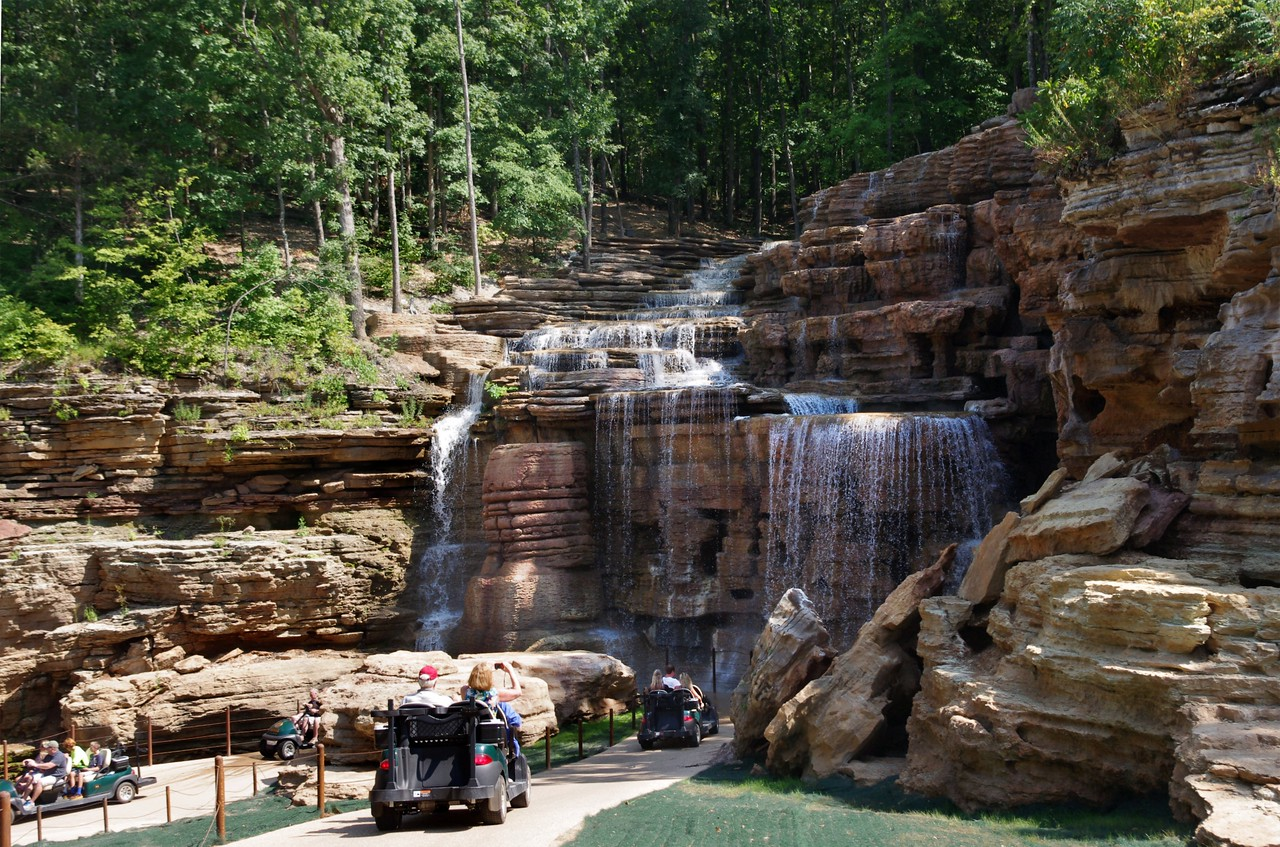 "We take the ""Top Of The Rock Lost Canyon Cave and Nature Trail"" <br /> That is, we drive a golf cart to the cave; drink a beer inside the cave; then drive the golf cart back."