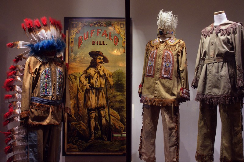Native American clothing, Ancient Ozarks Natural History Museum at Top of the Rock near Branson, Missouri.