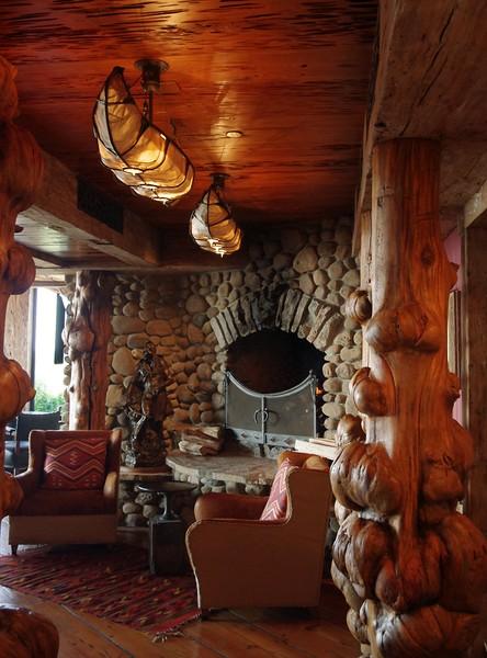 Buffalo Bar, interior,  at Top of the Rock, a tourist attraction near Branson, Missouri.