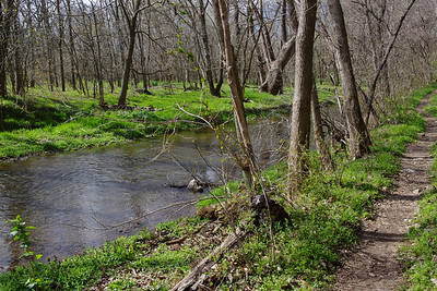 Crane Creek; Wire Road Conservation Area, near Crane, Missouri.