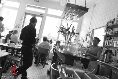 Brasilian cafe on Houston...next time for Brunch!