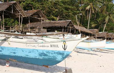 Canhaway - Guindolman. Anda, Bohol, de Filipijnen.