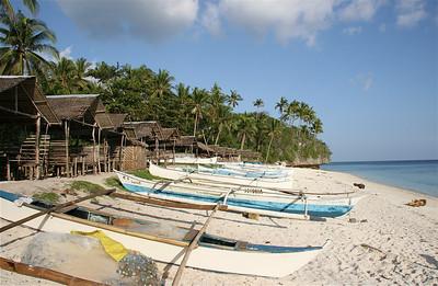 Klaar voor een nieuwe vangst. Anda, Bohol, de Filipijnen.