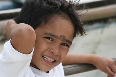 Hartenbreker. Anda, Bohol, de Filipijnen.
