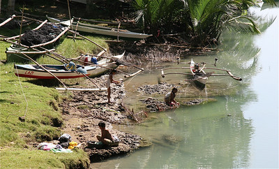 Wassen & wasjes. Siquijor, de Filipijnen.