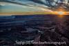 Sunset at Dead Horse State Park, Utah