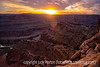 Sunset view from Dead Horse Point State Park; best viewed in the largest sizes