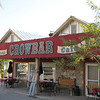 The famous Crowbar restaurant and saloon! Only place to eat...