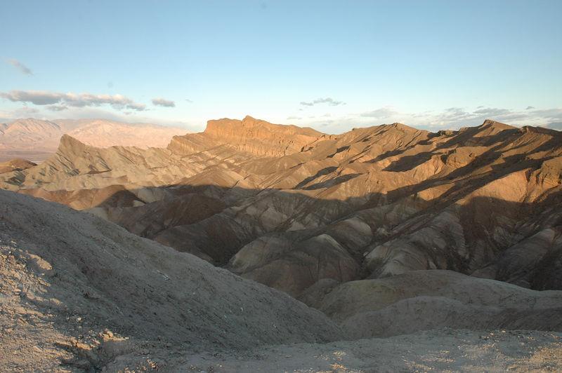 Sunrise at Zabriskie Point, Death Valley National Park, CA