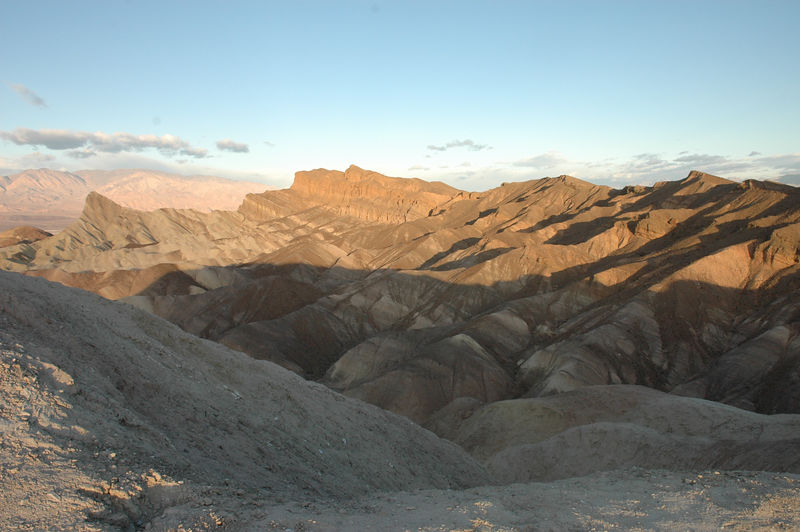 Sunrise at Zabriskie Point, Death Valley National Park, CA