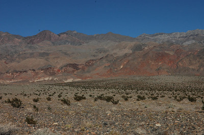 On the way to Ubehebe Crater, Death Valley National Park, CA