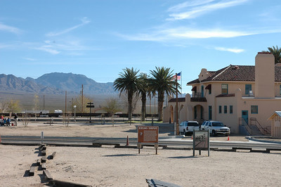 The Mohave Visitor Center, Mohave National Preserve, CA