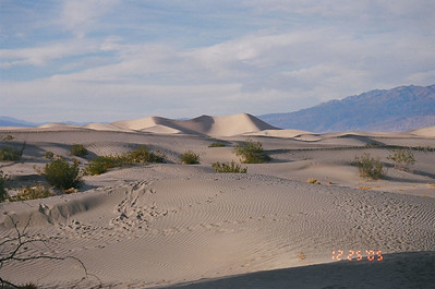 The highest Sand Dune, Death Valley National Park, CA