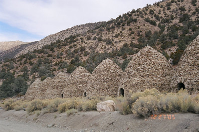 Charcoal Kilns, Death Valley National Park, CA