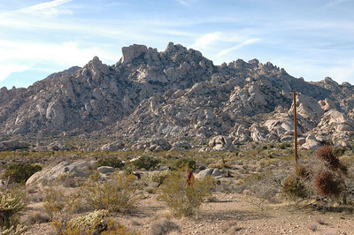 Looking for hole in the rock trail, Mohave National Preserve, CA