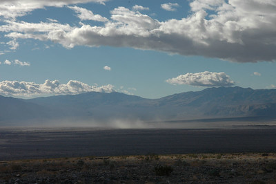 Dust Storms, Death Valley National Park, CA
