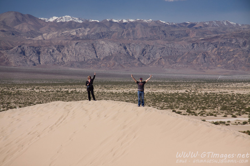 Mesquite Dunes (at Stovepipe Wells).