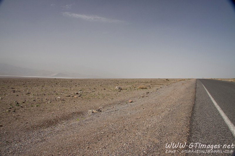On the way to Badwater flats. Nothing grows here....nothing.....