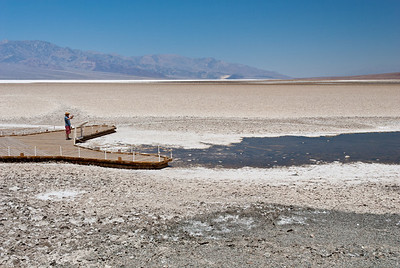 Lowest Point in North America, Death Valley California