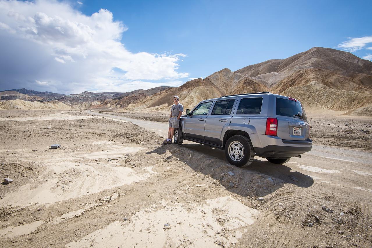 Desert Wash in Death Valley National Park, California - April 2016