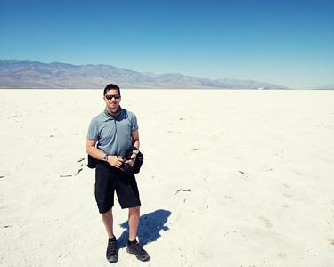 Chris at Badwater Basin