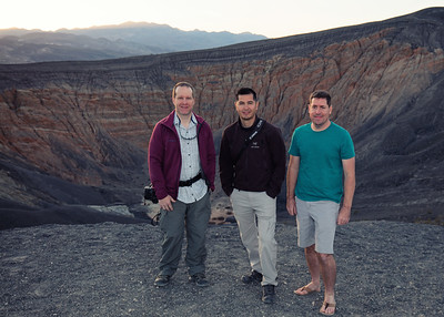WCP at Ubehebe Crater