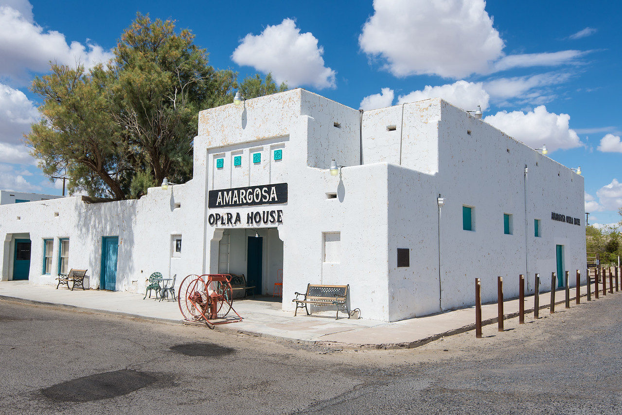 Amargosa Opera House in Death Valley National Park, California - April 2016