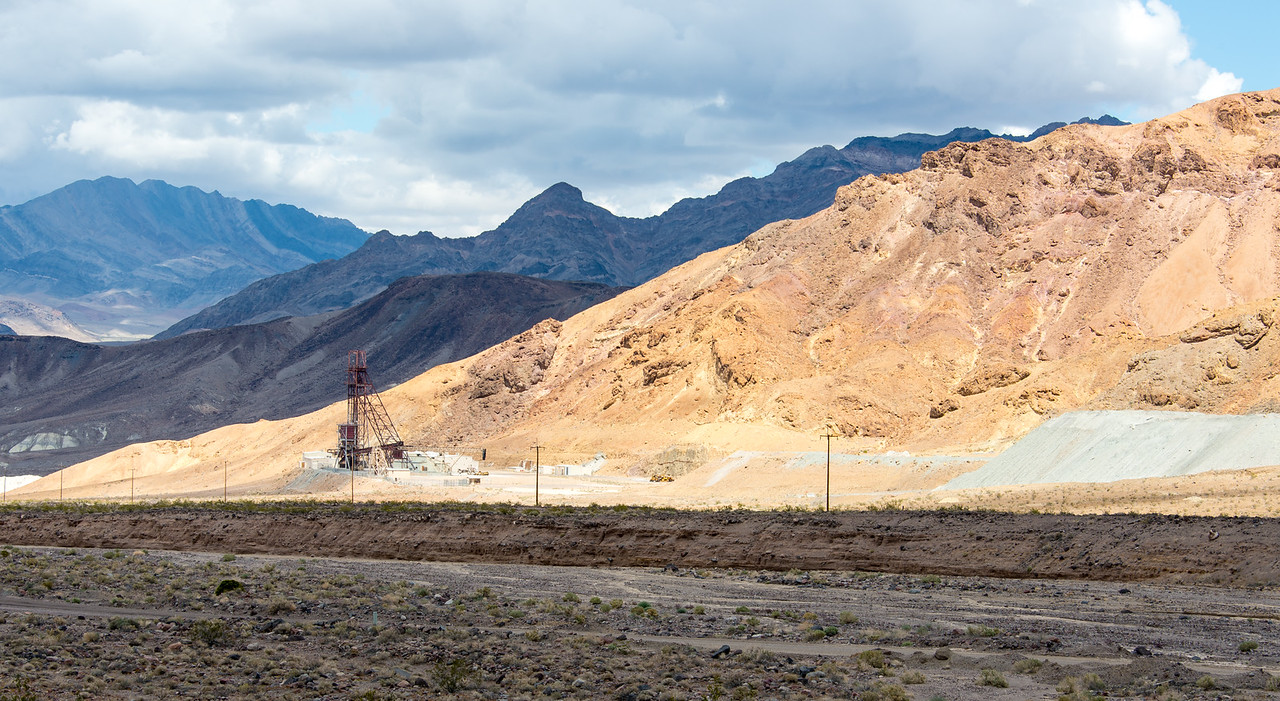 Mine in Death Valley National Park, California - April 2016