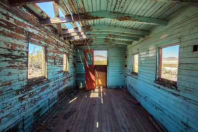 abandoned in Rhyolite