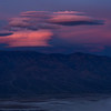 Sunrise from Dante's View, overlooking Saltflats at Badwater in Death Valley.