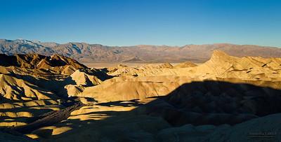 Zabriskie Point, Death Valley, California