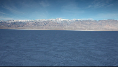 Badwater Basin. Death Valley National Park, California.