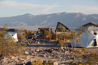 Camping in Death Valley