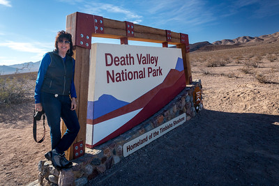 Death Valley National Park in the northwest Mojave Desert.